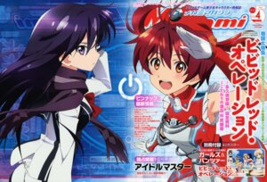 Rating: Questionable Score: 17 Tags: isshiki_akane kuroki_rei vividred_operation User: dansetone