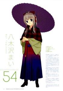 Rating: Safe Score: 7 Tags: japanese_clothes mibu_natsuki tetsudou_musume yagisawa_mai User: fireattack
