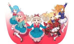 Rating: Questionable Score: 11 Tags: aikatsu! aikatsu_on_parade! heels hitoto kiseki_raki minato_mio nijino_yume oozora_akari seifuku thighhighs uniform yuuki_aine User: Dreista