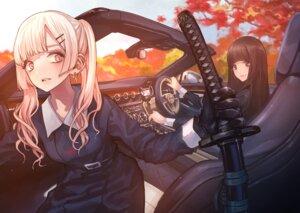 Rating: Safe Score: 14 Tags: koh_(minagi_kou) seifuku sword User: Dreista