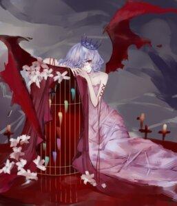 Rating: Safe Score: 13 Tags: dress kelou remilia_scarlet touhou wings User: charunetra