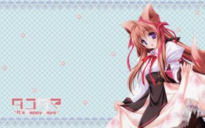Rating: Safe Score: 16 Tags: animal_ears kitsune mito_mashiro moekibara_fumitake tayutama wallpaper User: chibimint