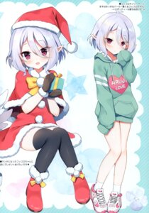 Rating: Questionable Score: 30 Tags: christmas kokkoro mauve pointy_ears princess_connect princess_connect!_re:dive tagme thighhighs User: kiyoe