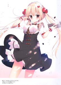 Rating: Safe Score: 43 Tags: izumi_yuhina maid skirt_lift User: kiyoe