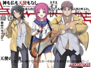 Rating: Safe Score: 10 Tags: angel_beats! begbeing fujimaki guitar iwasawa matsushita User: Radioactive