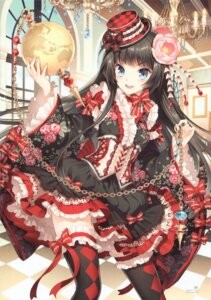 Rating: Safe Score: 137 Tags: butterfly_dream dress furyou_michi_~gang_road~ lolita_fashion nardack thighhighs User: yong