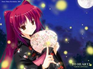 Rating: Safe Score: 22 Tags: ikegami_akane kousaka_tamaki to_heart_2 to_heart_(series) wallpaper yukata User: waha