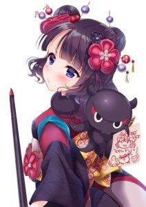Rating: Safe Score: 35 Tags: fate/grand_order katsushika_hokusai_(fate/grand_order) kimono yukina_(black0312) User: Mr_GT