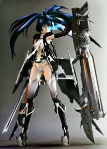 Rating: Safe Score: 45 Tags: black_rock_shooter black_rock_shooter_(character) cg mecha_musume thighhighs vocaloid User: itsu-chan