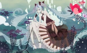 Rating: Safe Score: 6 Tags: anbivarens dress hatsune_miku vocaloid User: Radioactive