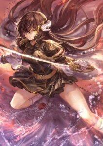 Rating: Safe Score: 37 Tags: azur_lane horns mashu_(003) mikasa_(azur_lane) sword uniform User: Mr_GT