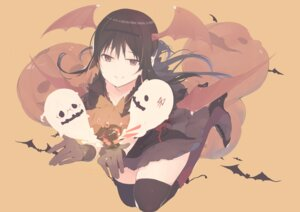 Rating: Safe Score: 26 Tags: akemi_homura halloween heels kokoro6636 puella_magi_madoka_magica thighhighs wings User: Mr_GT