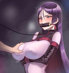 Rating: Questionable Score: 15 Tags: bodysuit bondage breast_grab erect_nipples fate/grand_order kaddo minamoto_no_raikou_(fate/grand_order) User: Mr_GT