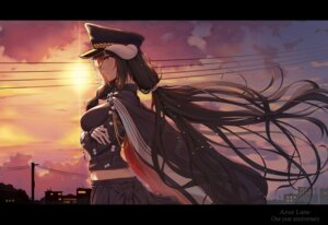 Rating: Safe Score: 21 Tags: 5555_96 azur_lane breast_hold horns mikasa_(azur_lane) uniform User: Mr_GT