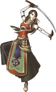 Rating: Safe Score: 4 Tags: bandages dress hazuki_(suikoden) japanese_clothes kizaki_sub-zero suikoden suikoden_v sword User: Magus
