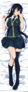 Rating: Safe Score: 46 Tags: dakimakura kagari_ayaka seifuku thighhighs witch_craft_works User: DDD