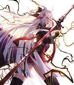 Rating: Safe Score: 46 Tags: fate/grand_order garter kancell majin_saber sword thighhighs User: Cold_Crime