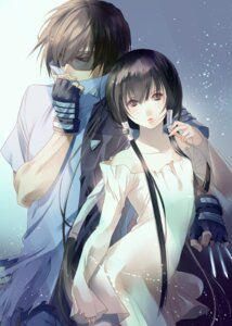 Rating: Safe Score: 31 Tags: fuuchouin_kazuki get_backers kakei_juubei papillon10 trap weapon User: Radioactive