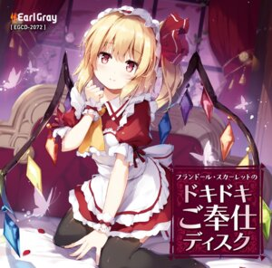 Rating: Safe Score: 57 Tags: disc_cover flandre_scarlet maid miyase_mahiro thighhighs touhou wings User: 蕾咪