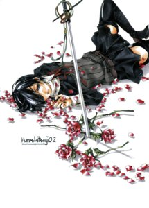 Rating: Safe Score: 11 Tags: aria_(circle) ciel_phantomhive crossdress eyepatch kuroshitsuji male shina_himetsuka sword User: Radioactive