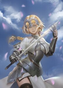 Rating: Safe Score: 17 Tags: armor fate/grand_order jeanne_d'arc jeanne_d'arc_(fate) sword tagme thighhighs User: BattlequeenYume