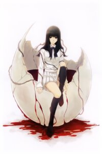 Rating: Safe Score: 22 Tags: blood kara_no_shoujo kuchiki_touko seifuku sugina_miki User: Hatsukoi