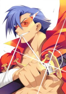 Rating: Questionable Score: 10 Tags: fujima_takuya kamina male tengen_toppa_gurren_lagann User: crim