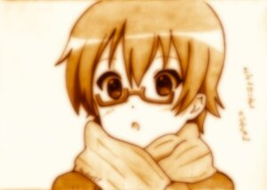 Rating: Safe Score: 3 Tags: godees k-on! manabe_nodoka megane monochrome User: charunetra
