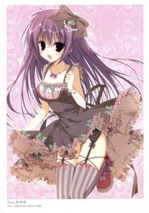 Rating: Safe Score: 45 Tags: dress inugami_kira k-books stockings thighhighs User: WtfCakes