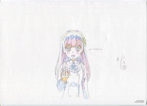 Rating: Safe Score: 10 Tags: glass_no_hana_to_kowasu_sekai raw_scan sketch sumire_(garakowa) User: hirotn