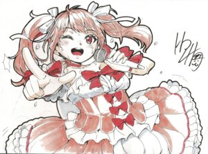 Rating: Safe Score: 6 Tags: bang_dream! dress hardboiled_yoshiko lolita_fashion maruyama_aya sketch wet User: 8mine8