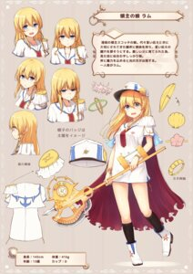 Rating: Safe Score: 23 Tags: character_design tagme tsuchikure_(3105mitoko) uniform weapon User: fairyren