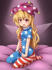 Rating: Safe Score: 28 Tags: clownpiece kaiyi pantyhose touhou wings User: Mr_GT