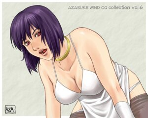 Rating: Safe Score: 14 Tags: azasuke azasuke_wind cleavage dress ghost_in_the_shell kusanagi_motoko pantsu panty_pull pantyhose User: Radioactive