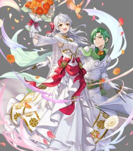 Rating: Questionable Score: 6 Tags: dress fire_emblem fire_emblem:_akatsuki_no_megami fire_emblem_heroes micaiah nintendo sothe teffish weapon wedding_dress User: fly25