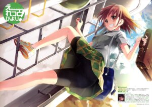 Rating: Questionable Score: 28 Tags: bike_shorts eretto seifuku User: drop