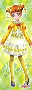 Rating: Safe Score: 11 Tags: dokidoki!_precure pantyhose pretty_cure stick_poster takahashi_akira yotsuba_alice User: Anonymous