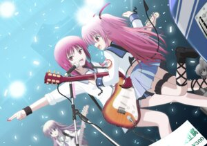 Rating: Safe Score: 18 Tags: angel_beats! guitar iwasawa seifuku sekine sora_(aki00) yui_(angel_beats!) User: HTTmioyui