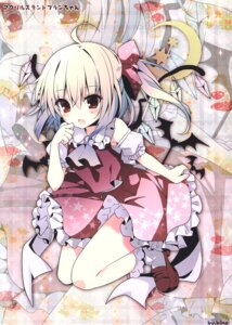 Rating: Questionable Score: 26 Tags: flandre_scarlet heels kino kinokonomi skirt_lift touhou wings User: Radioactive