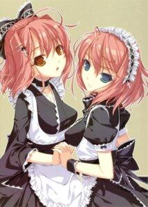 Rating: Safe Score: 52 Tags: hisui kohaku maid neko_works sayori tsukihime User: Aurelia