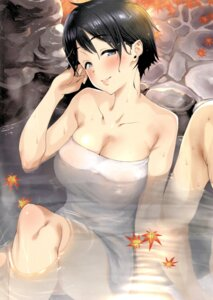 Rating: Questionable Score: 28 Tags: bathing onsen pija_(artist) screening tagme towel wet User: kiyoe