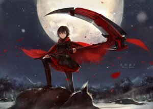 Rating: Safe Score: 60 Tags: cotta monster pantyhose ruby_rose rwby weapon User: ayura97