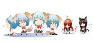 Rating: Safe Score: 10 Tags: akemi_homura animal_ears chibi miki_sayaka p9 puella_magi_madoka_magica sakura_kyouko seifuku tail User: Radioactive