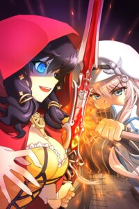 Rating: Safe Score: 22 Tags: cleavage sword sword_girls yasaingma User: charunetra