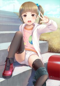 Rating: Questionable Score: 110 Tags: loli pantsu sody thighhighs User: RaulDJ747