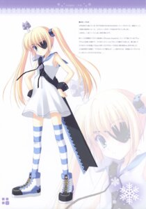 Rating: Safe Score: 21 Tags: eyepatch ice_&_choco nanao_naru sword thighhighs User: petopeto