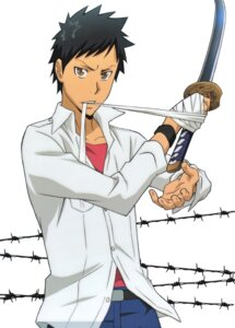 Rating: Safe Score: 1 Tags: katekyo_hitman_reborn! male sword yamamoto_takeshi User: Radioactive