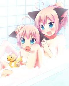 Rating: Questionable Score: 40 Tags: animal_ears bathing loli mani naked User: blooregardo