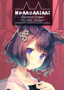 Rating: Questionable Score: 18 Tags: animal_ears cut_a_dash!! fate/grand_order katsushika_hokusai_(fate/grand_order) mitsumi_misato User: kiyoe
