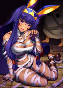 Rating: Questionable Score: 50 Tags: animal_ears bandages bunny_ears emanon_123 fate/grand_order medjed naked_ribbon nitocris_(fate/grand_order) User: Nepcoheart